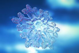 Although two snowflakes may look identical under a microscope, the chance that two snowflakes are the same on the molecular level is infinitesimally small.