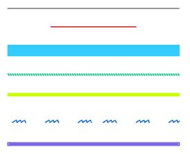 Examples of lines
