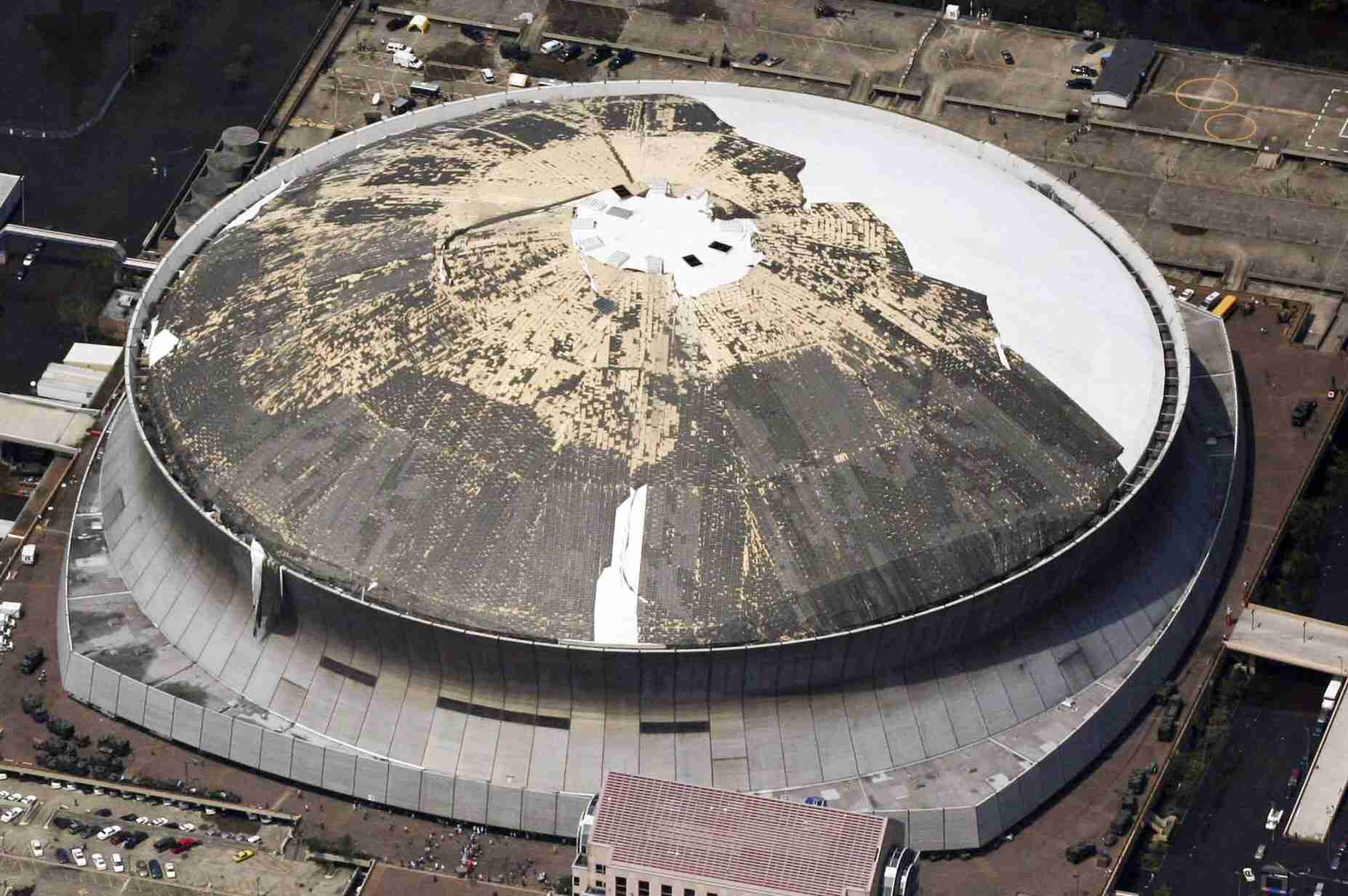 How Strong Is The Louisiana Superdome Roof