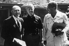photo of Begin, Carter, and Sadat at Camp David