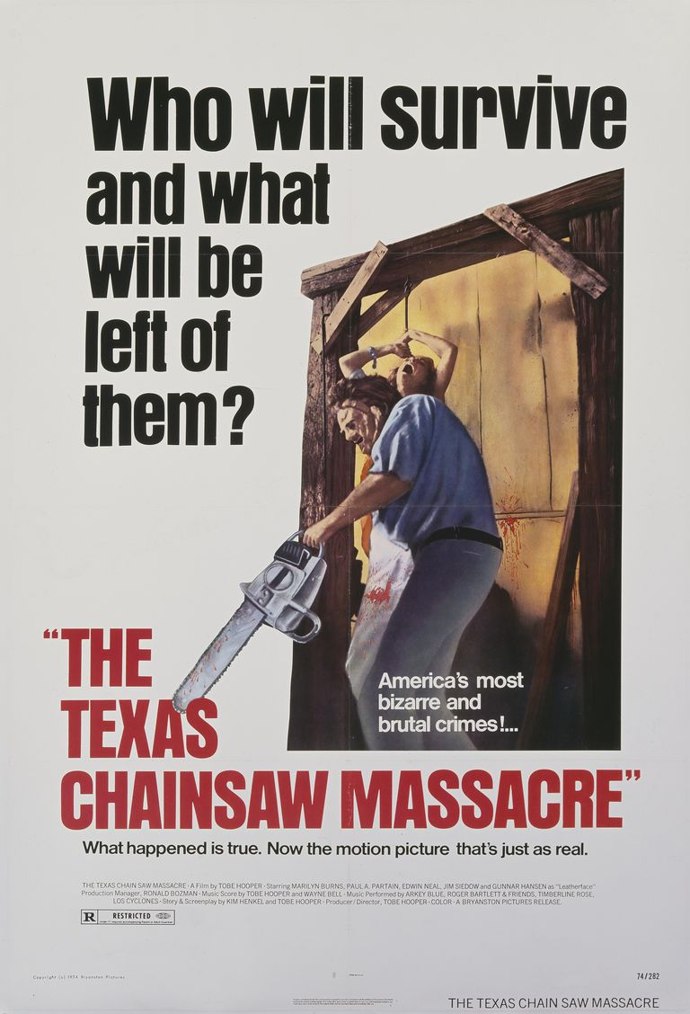 The Texas Chain Saw Massacre movie poster 1974