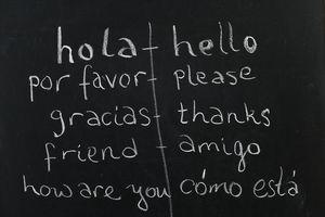 Spanish / English class