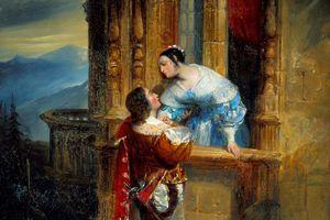 painting of romeo and juliet balcony scene