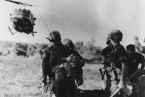 Battle of Dak To photograph