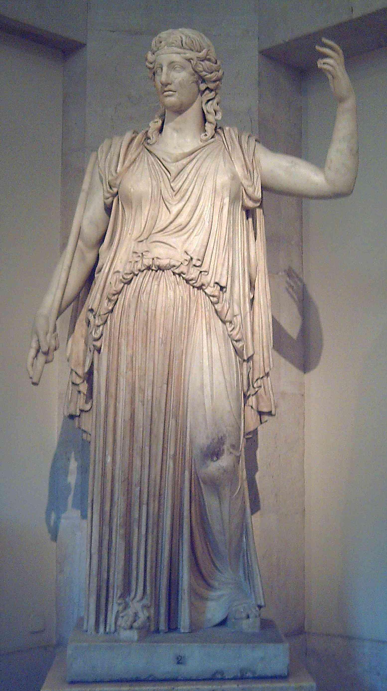 Demeter Statue at the Prado Museum in Madrid