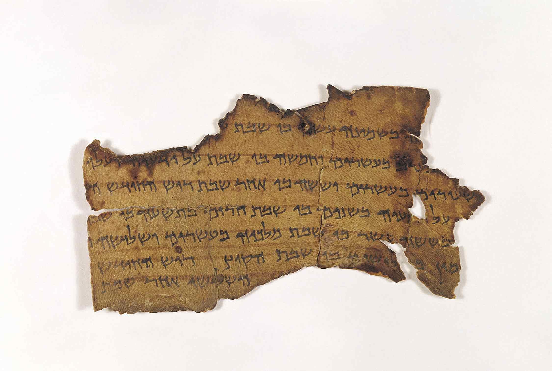 Calendrical Document - Dead Sea Scrolls Document 4Q325