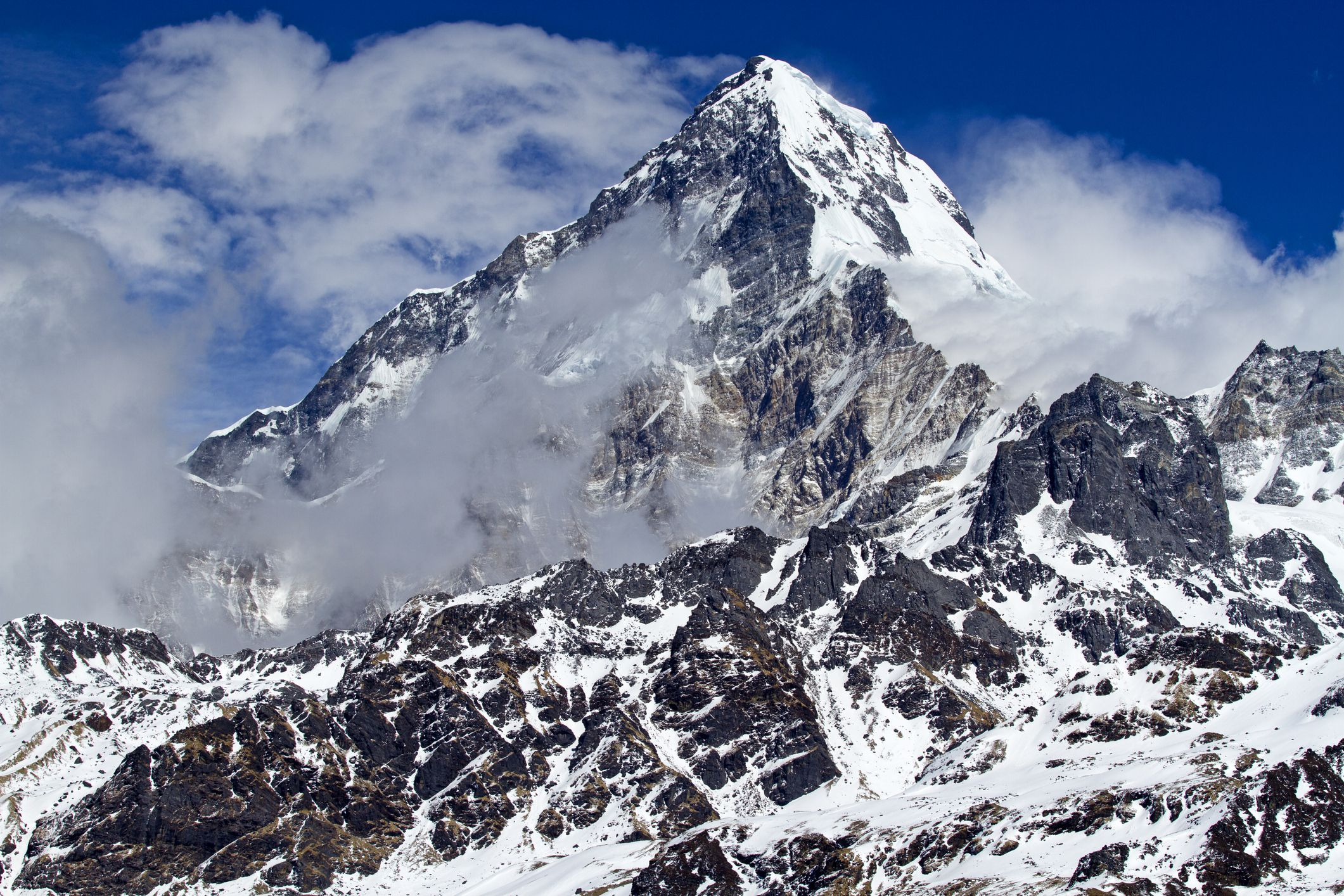 Annapurna: the 10th Highest Mountain in the World