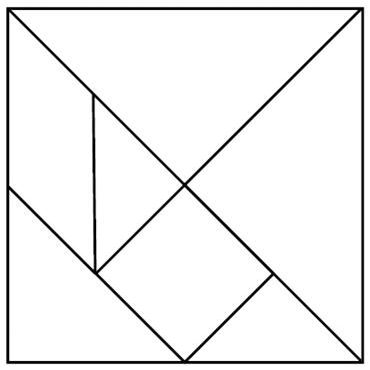 It is an image of Crazy Printable Tangram Patterns