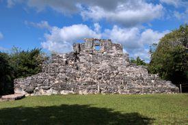 Ka'na Nah or High House at San Gervasio, Cozumel