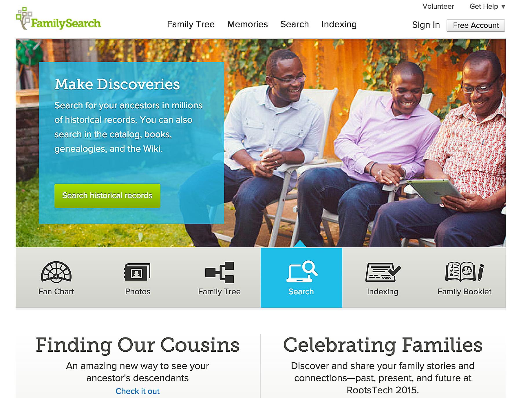 Αναζήτηση ιστορικών αρχείων FamilySearch
