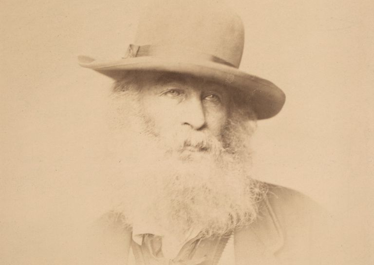 Photograph of Walt Whitman in 1863