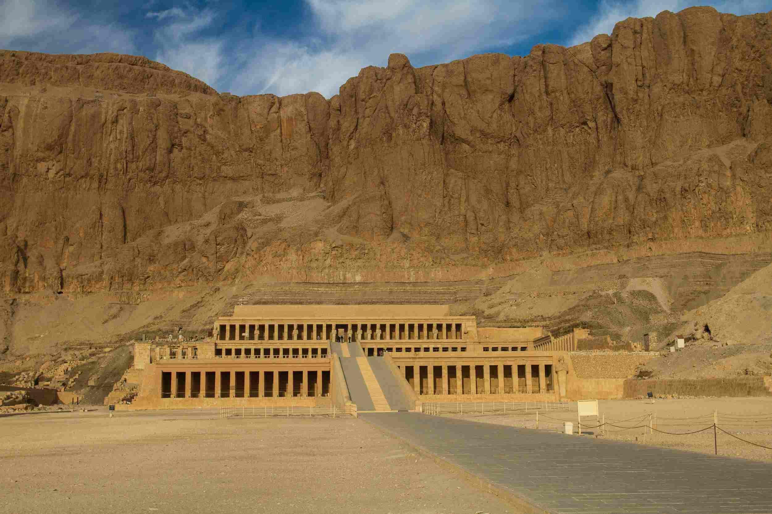 Hatshepsut's Djeser-DjeseruTemple at Deir el Barhi