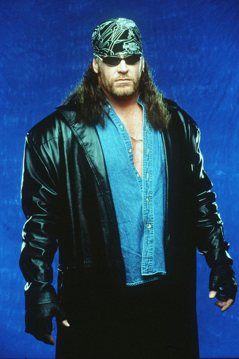 World Wrestling Federation's Wrestler Undertaker Poses June 12, 2000 In Los Angeles, Ca.