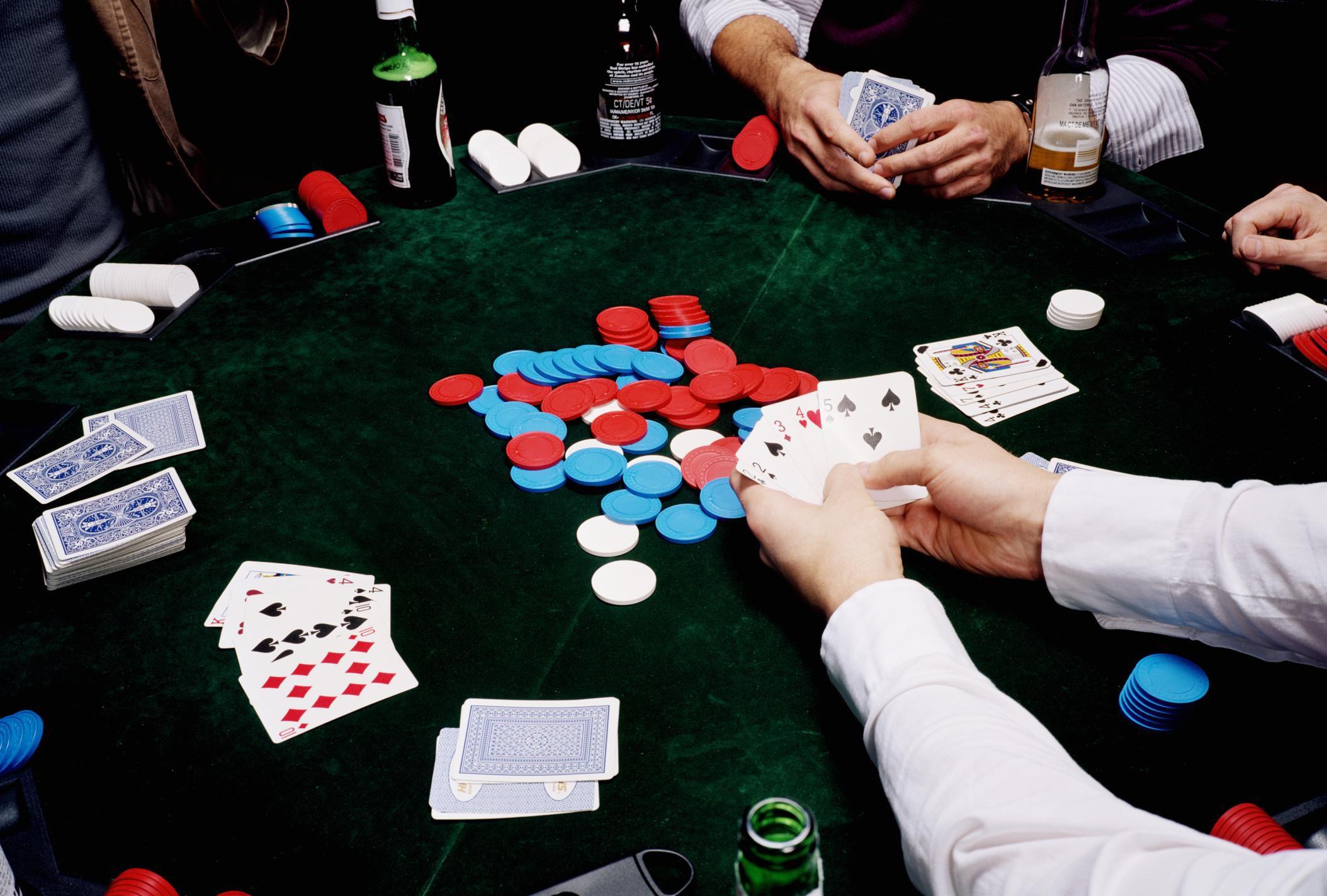 Poker Gegen Die Bank