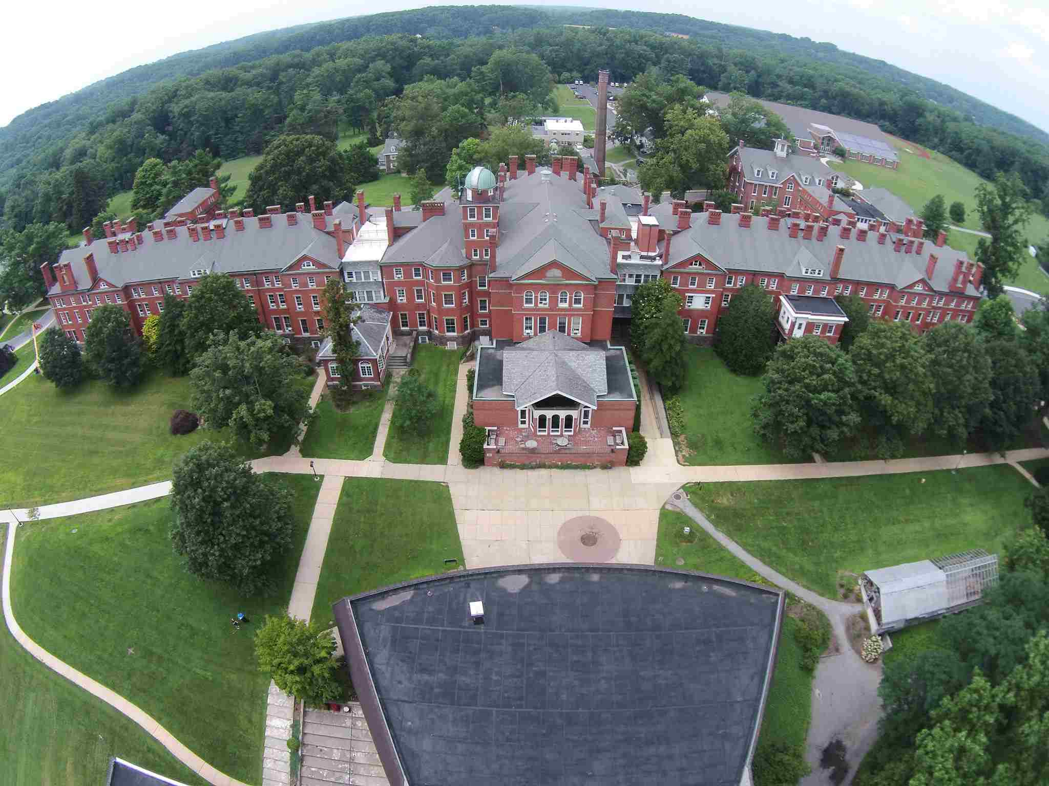 High Angle photo of Westtown School
