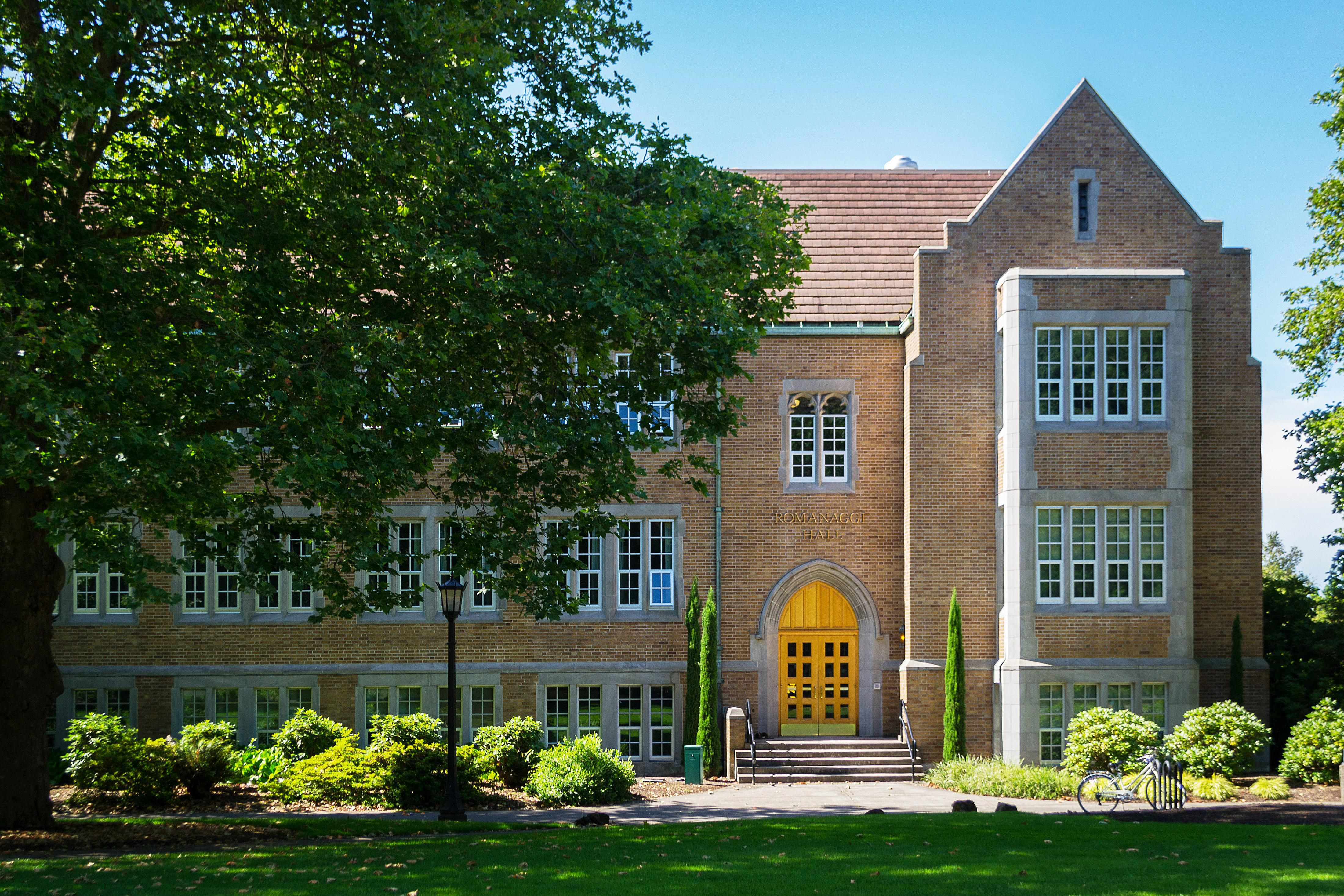 Romanaggi Hall at the University of Portland