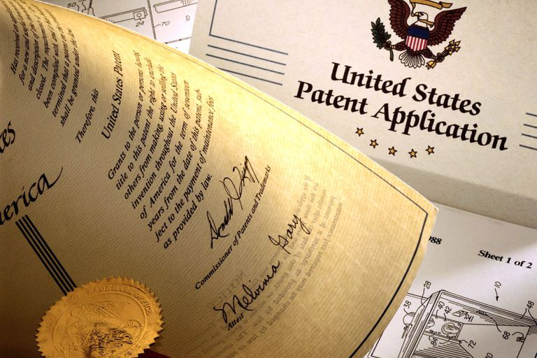 Several documents submitted as part of a U.S. patent application