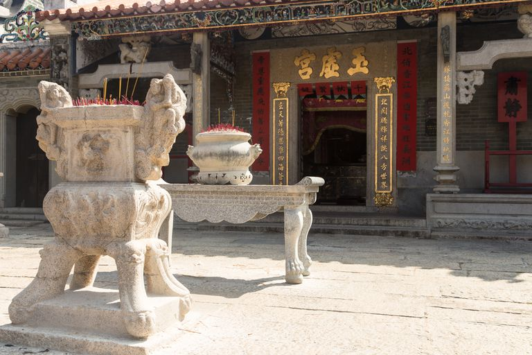 Pak Tai Temple on Cheung Chau island in Hong Kong