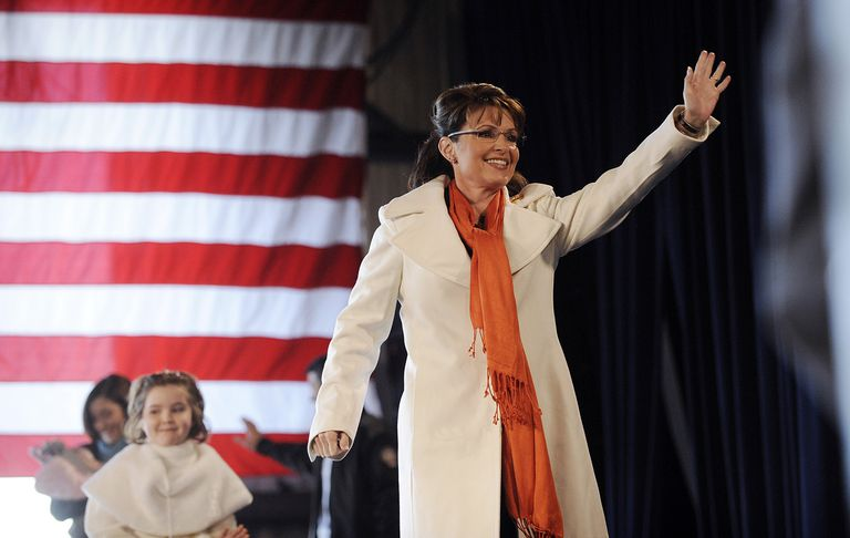 Sarah Palin Campaigns in Battleground State in Western Pennsylvania