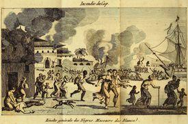 The Haitian revolution of enslaved Black people