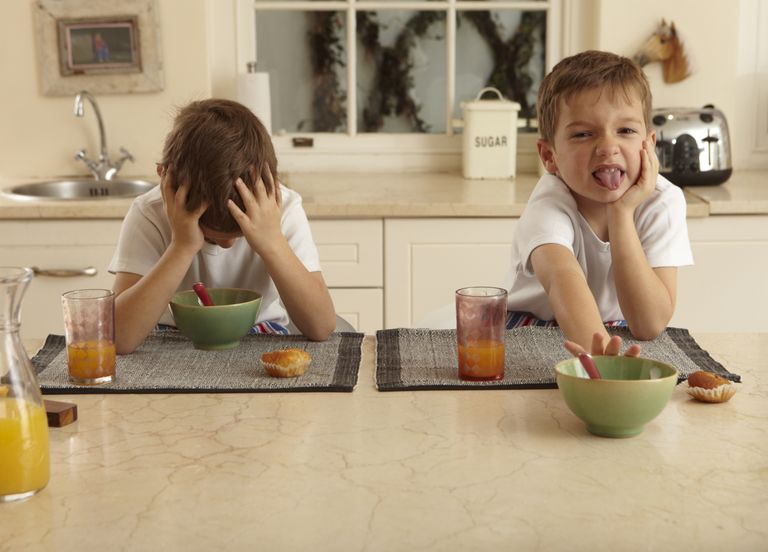 Picky eaters refusing to eat