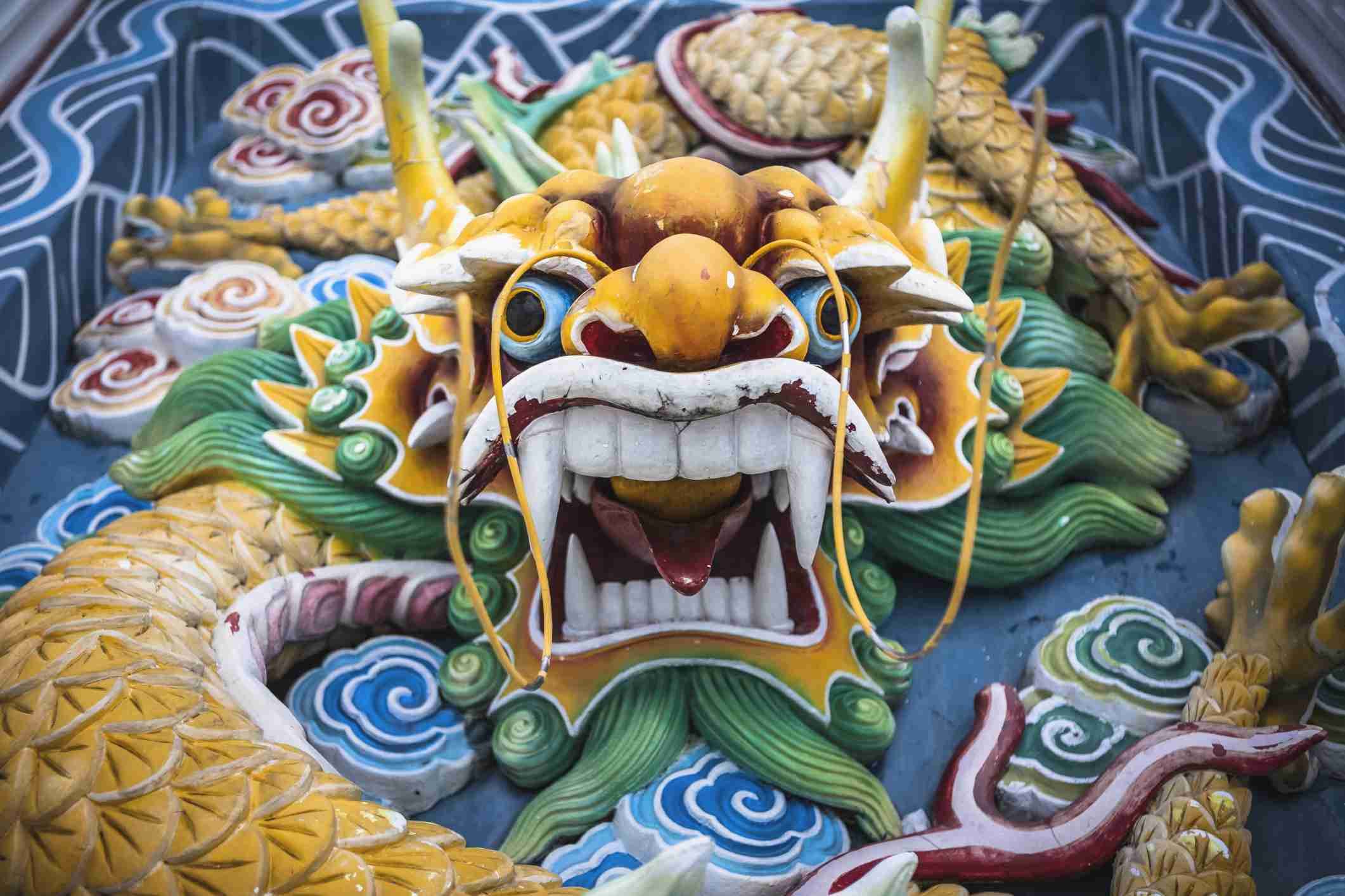 Dragons Demons And More A Guide To Buddhist Temple Guardians