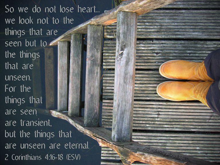 Do Not Lose Heart 2 Corinthians 4:16-18