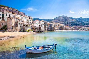 fishing boat in Sicily