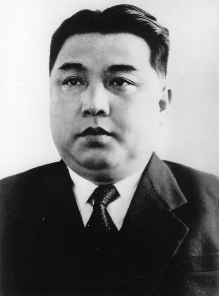 Kim Il-Sung, circa 1950
