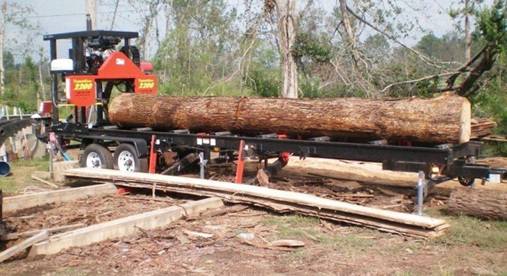 Used Sawmills For Sale >> The 5 Best North American Portable Sawmills