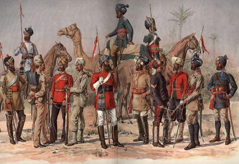 Images of British India