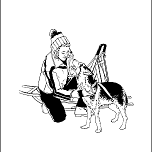 iditarod coloring pages for kid - photo#15