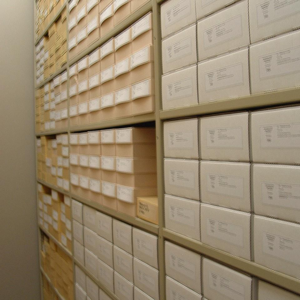 A repository is a place where the official collections of state-sponsored excavations are kept.