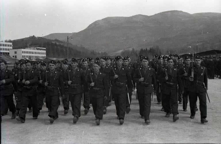 Ustasha Black Legion Troops