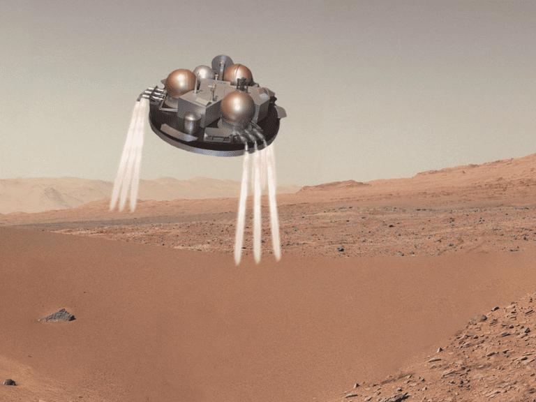 Schiaparelli lander (cartoon)