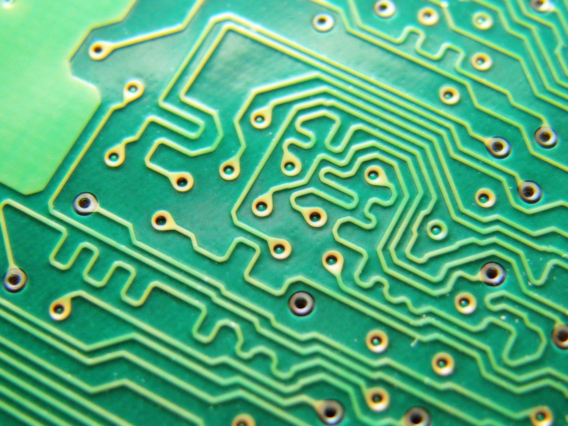 What Is A Semiconductor Explanation And History Macro Shot Of Integrated Circuit Many Uses In The Electronics