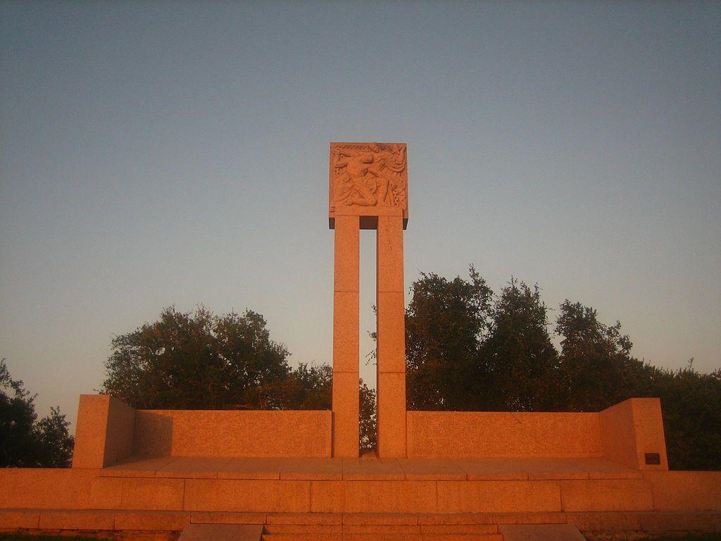 Fannin Monument in Goliad, TX
