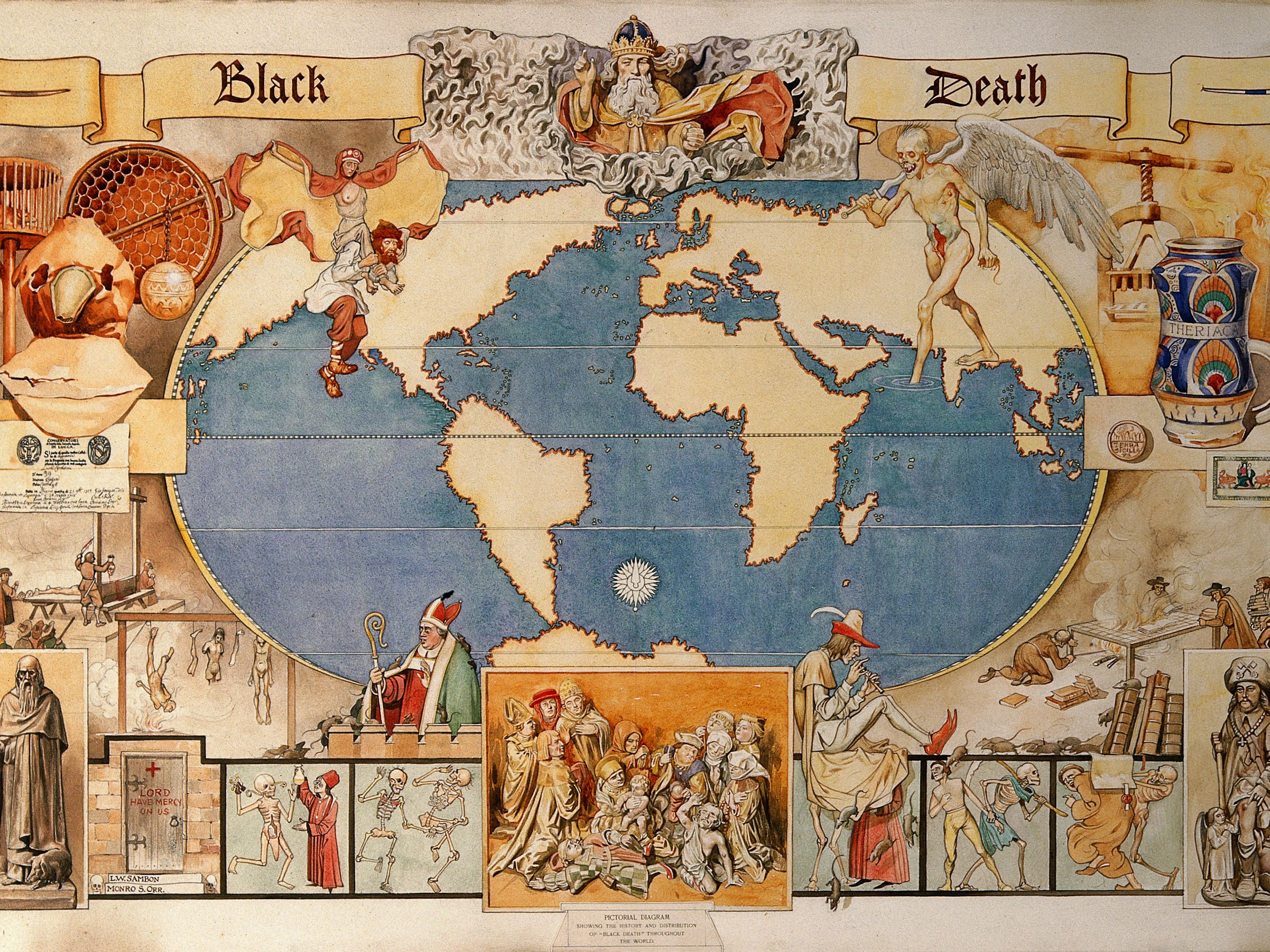 The Black : The Worst Event in European History on map of korea in 1400, map of kingdom of israel in 1400 ad, sweden black plague, map of china black plague, map of european empires in the 1400,