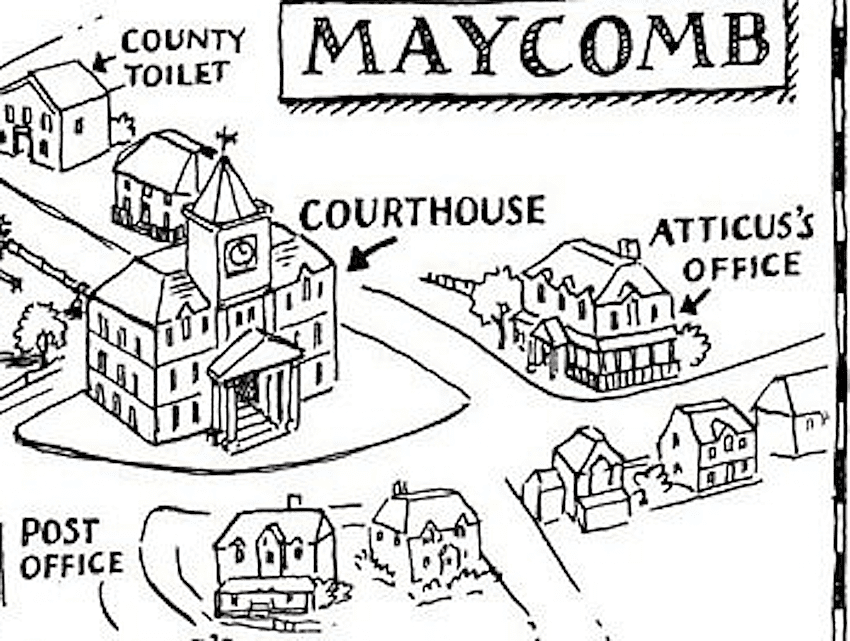 description of maycomb in to kill a mockingbird