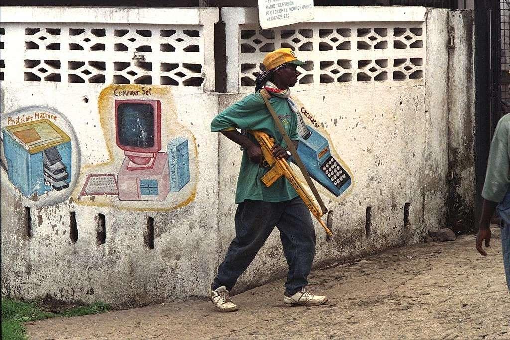 Civil War in Liberia