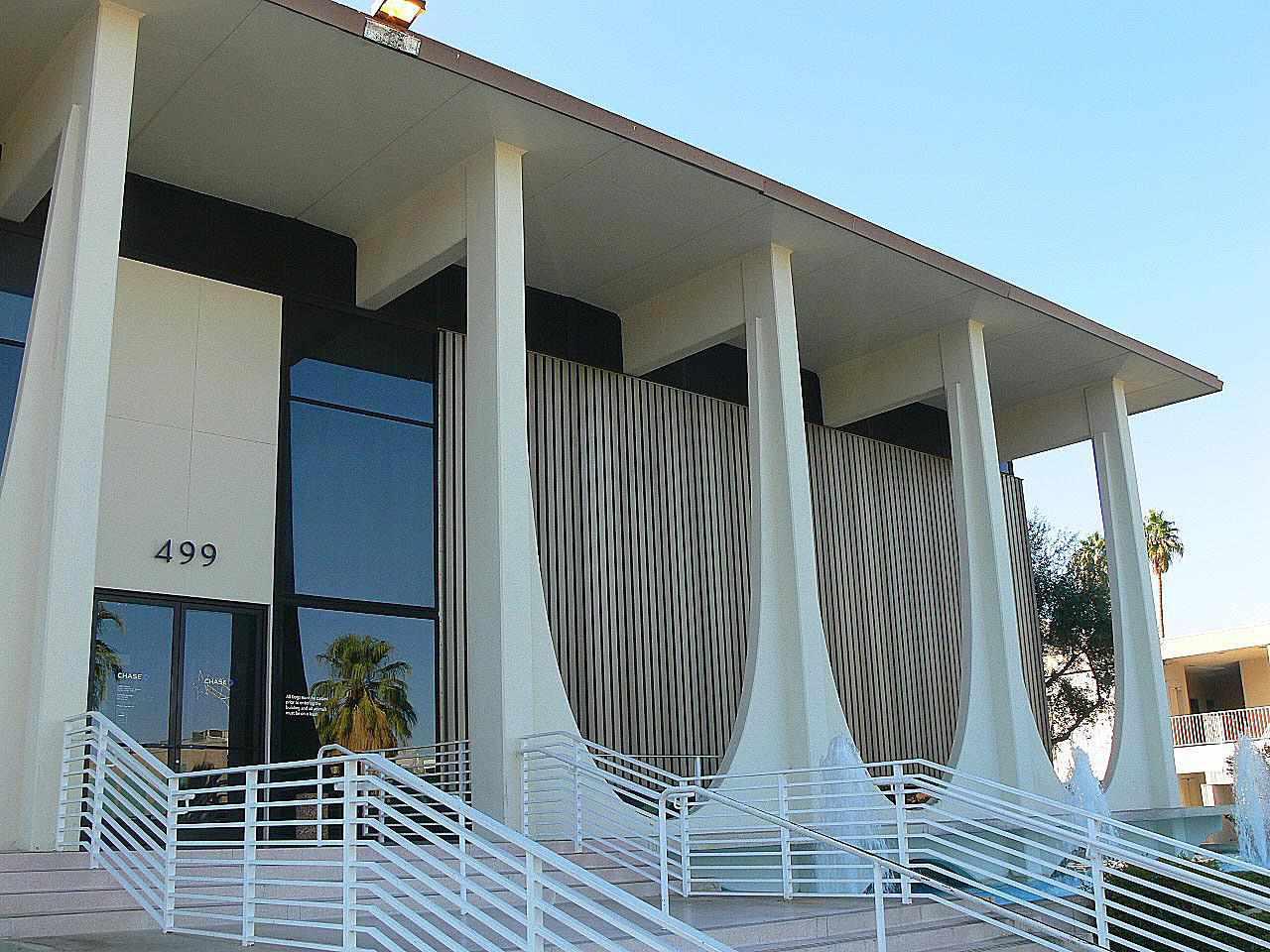 Ταμιευτήριο και δάνειο Coachella Valley (τώρα Washington Mutual) στο Παλμ Σπρινγκς