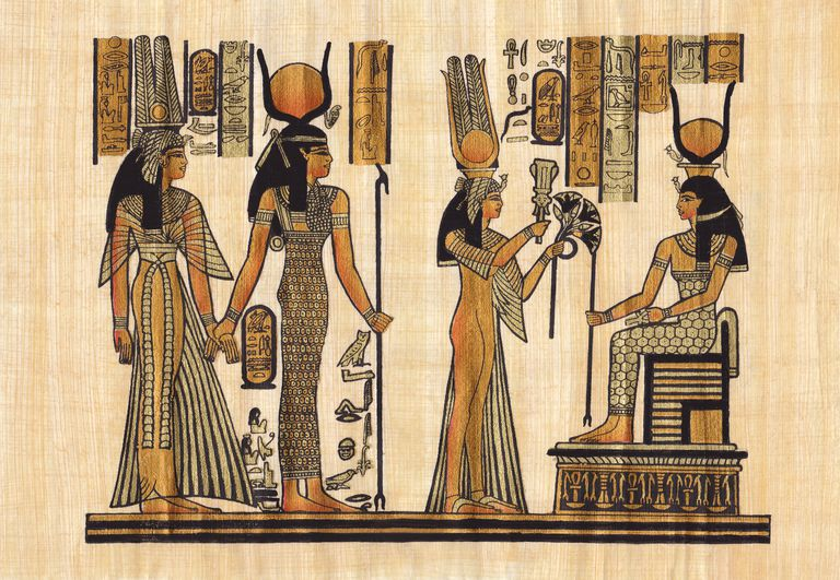 Ancient Egyptian papyrus