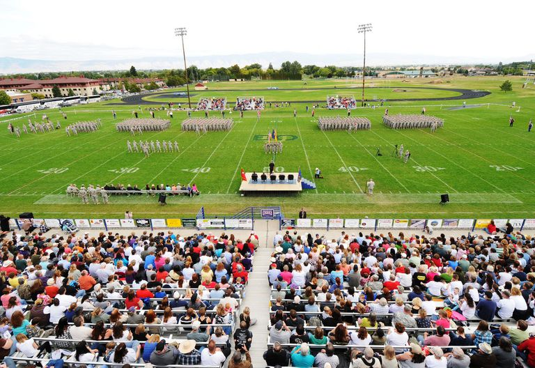 National Guard Send-Off at EOU