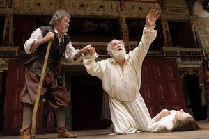 King Lear performance at the Globe