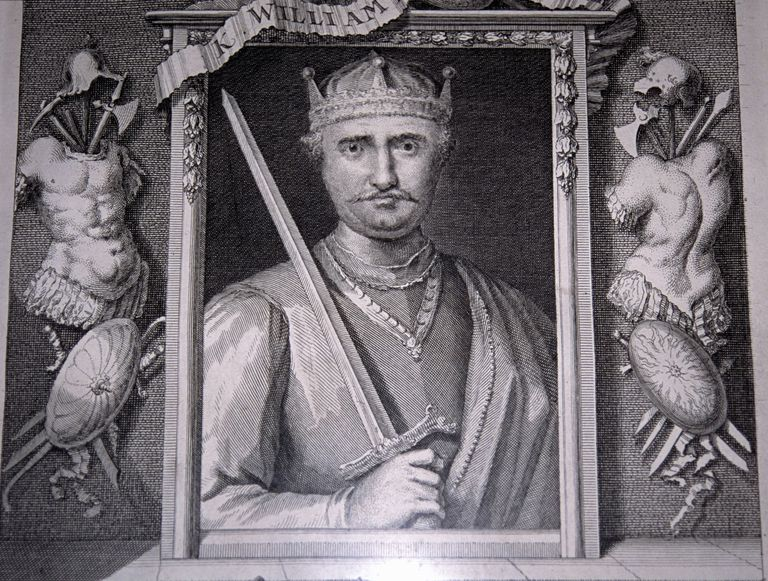 William the Conqueror, 19th century engraving, England