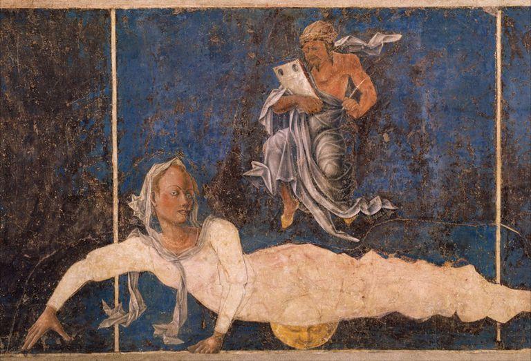artwork depicting Virgo