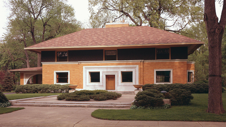 Frank Lloyd Wright Inspired Houses frank lloyd wright pre-1900 - the first prairie houses