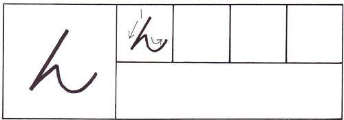 how to write the hiragana n character