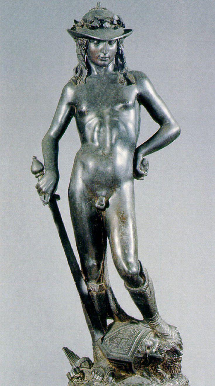 Statue of David by Donatello Large