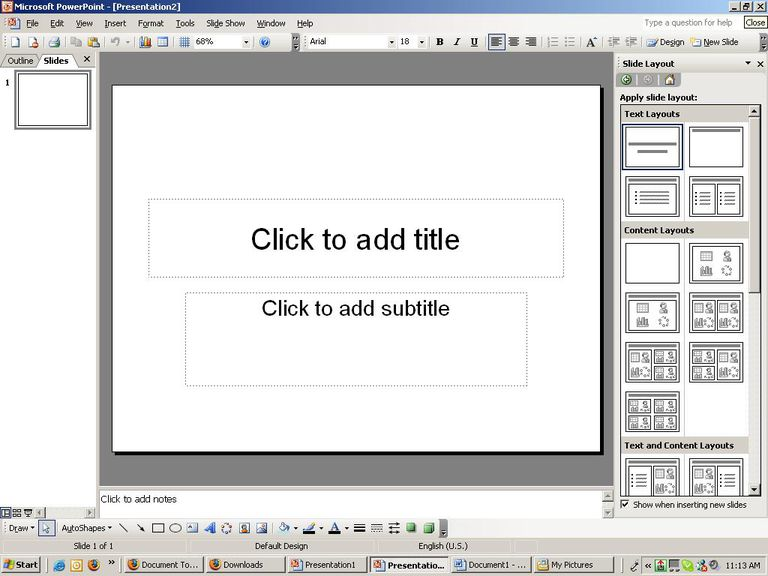 How to create a simple powerpoint presentation toneelgroepblik Gallery